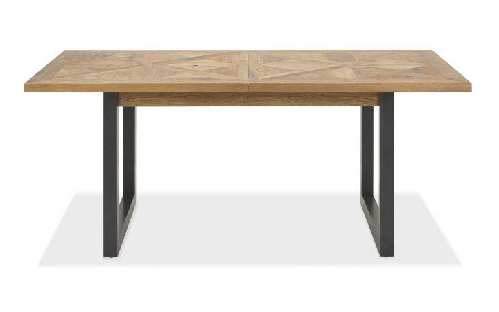Bordeaux Oak 6-8 Extendable Dining Table