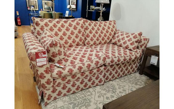 Barnaby Medium Sofa - Poppy Paisley Red