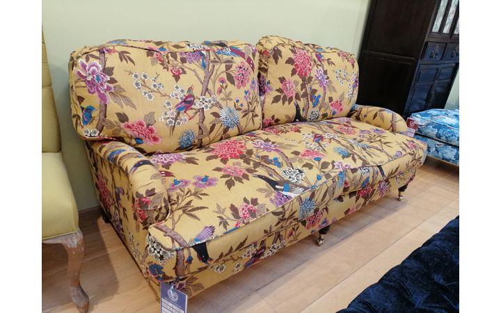 Buckingham Large Sofa - Bird Ochre