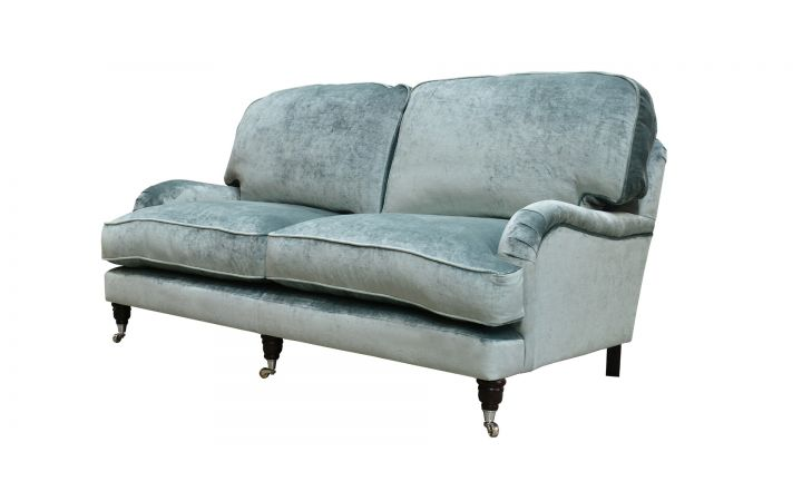 Buckingham Medium Sofa - 'Monarch' Sea Glass