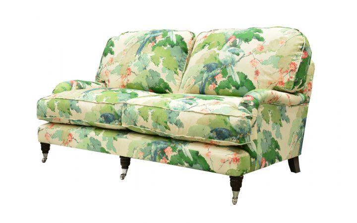 Buckingham Medium Sofa - 'Jungle Jive' Lawn Green