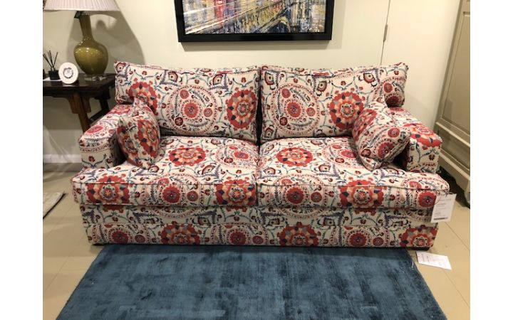 Lancaster Medium Sofa - Anthos Red