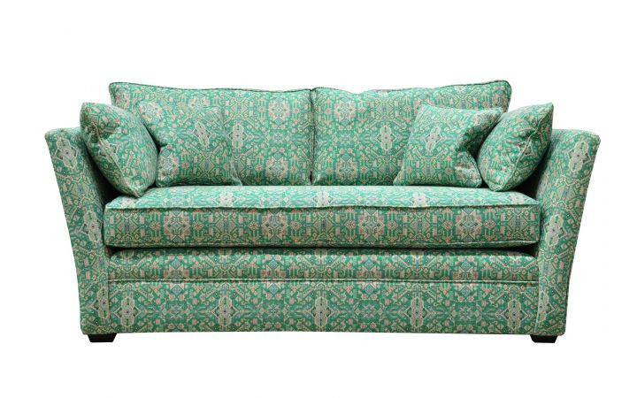 Soho Medium Sofa - 'Prisma Weaves' Jade