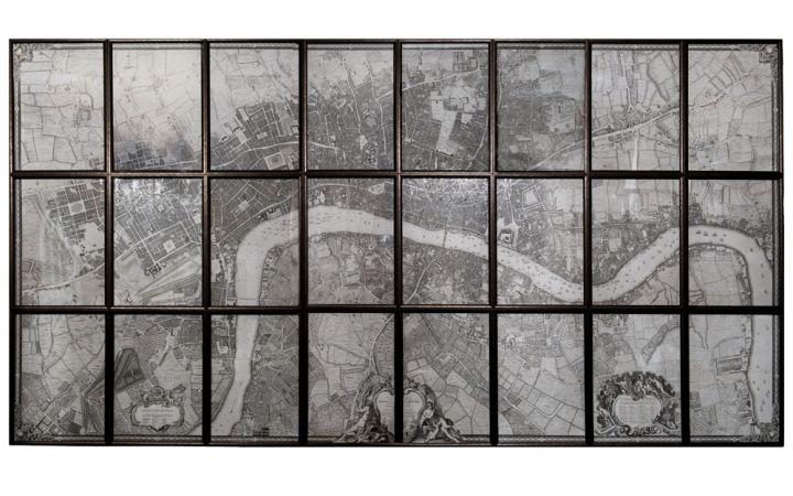 Multi Panel Map of London