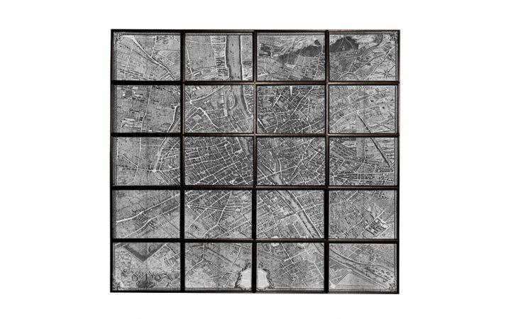 Multi Panel Map of Paris
