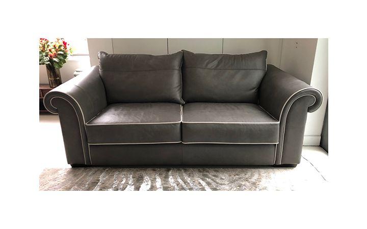 Wentworth Medium Sofa - Pasture Sandstone with Light Piping