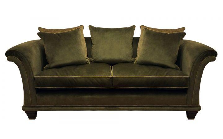 Amalfi Medium Sofa - Warwick 'Lovely' Moss