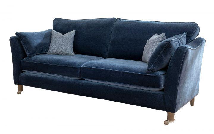 Directoire XL Sofa - 'Blenheim' Indigo