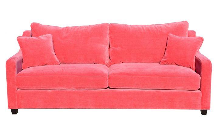 Studio Large Sofa - 'Manolo' Flamingo