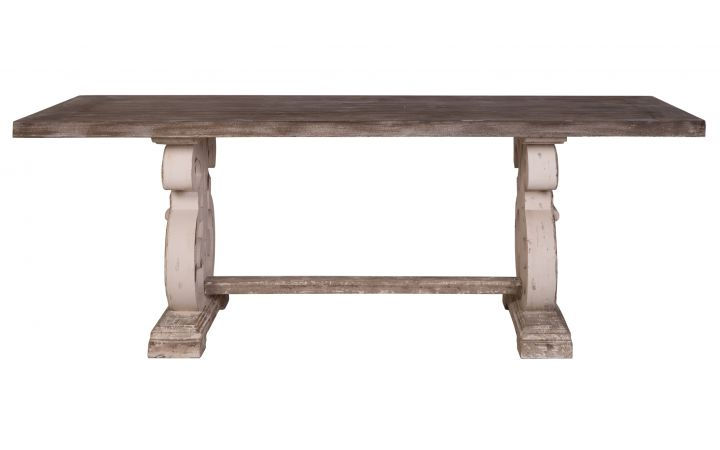 Lute Rustic French Style Dining Table