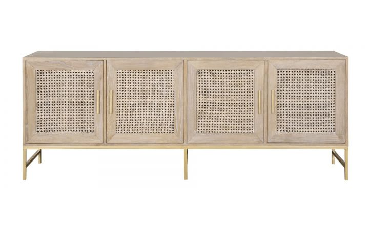 Mustique 4 Door Cabinet