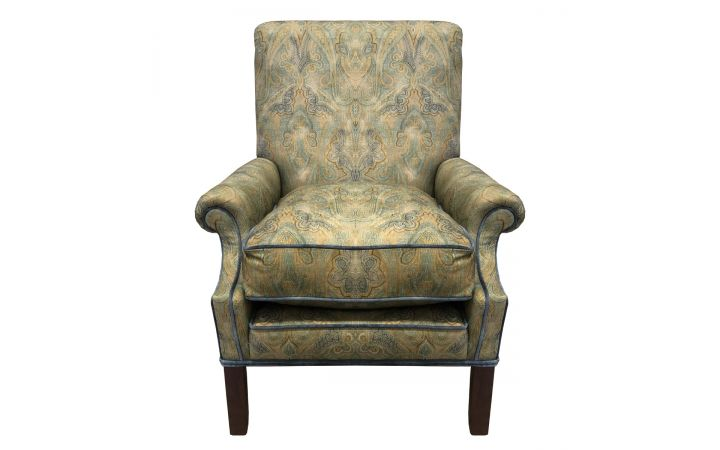Osbourne Occasional Chair - 'Rousham' Chartreuse