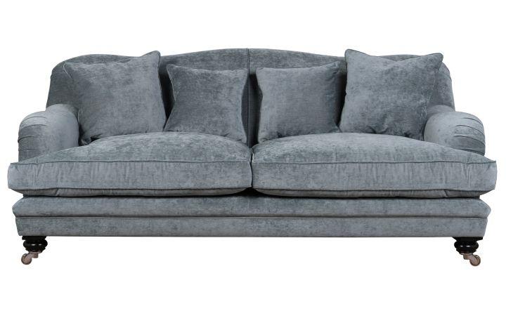 Lovat 2 Seat Grand Sofa - Zaragoza Titanium