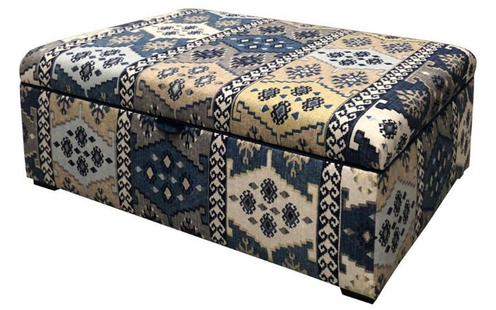 Romsey Storage Stool - Warwick Anthropology Denim
