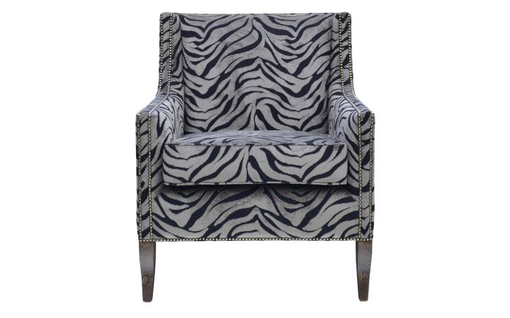 Lexington Library Chair - Warwick 'Cebra' Earth