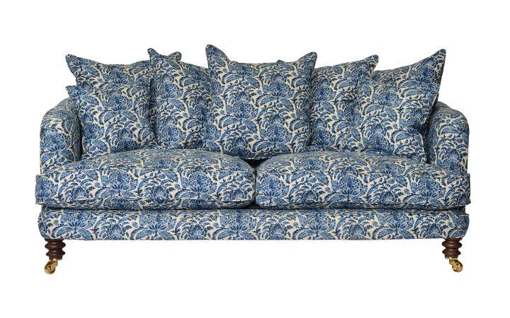 Ritz Large Sofa - Torsay Indigo