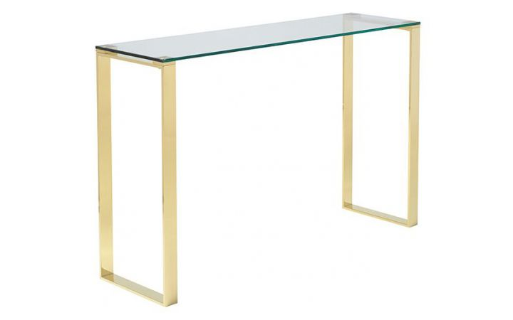 Semplice Console Table - Gold