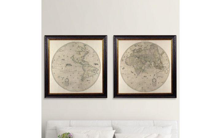 Hemisphere Map Set