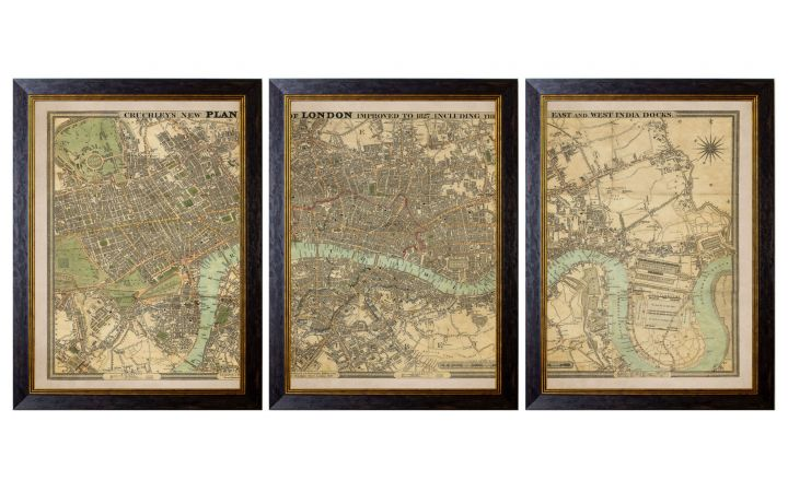 London Triptych Set of 3 - Large