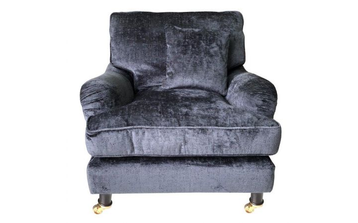 Connaught Standard Chair - 'Berber' Obsidian
