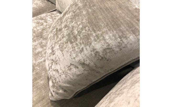 Directoire Large Sofa - Glimmer Silver