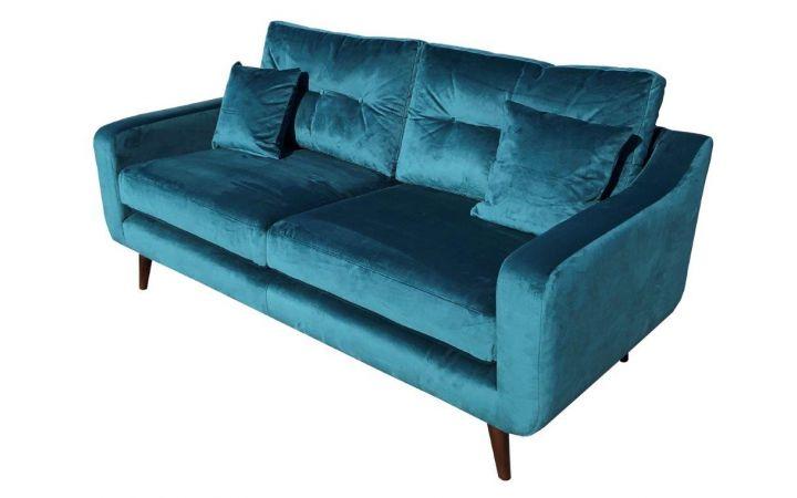 Porto Large Sofa - 'Lumio' Teal