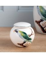 V&A Green Parrot Small Ginger Jar