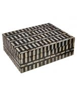 Bria Large Box - Black White
