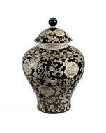 Mandalay Large Jar - Black