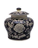 Mandalay 26cm Jar - Black