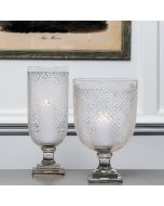 Ashbourne Hurricane Lamp - Wide