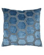 Honeycomb Cushion - Petrol