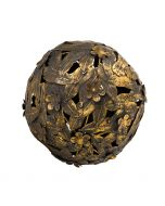 Loire Medium Decorative Ball - Leaf