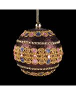 Purple Traditional Bauble - Round